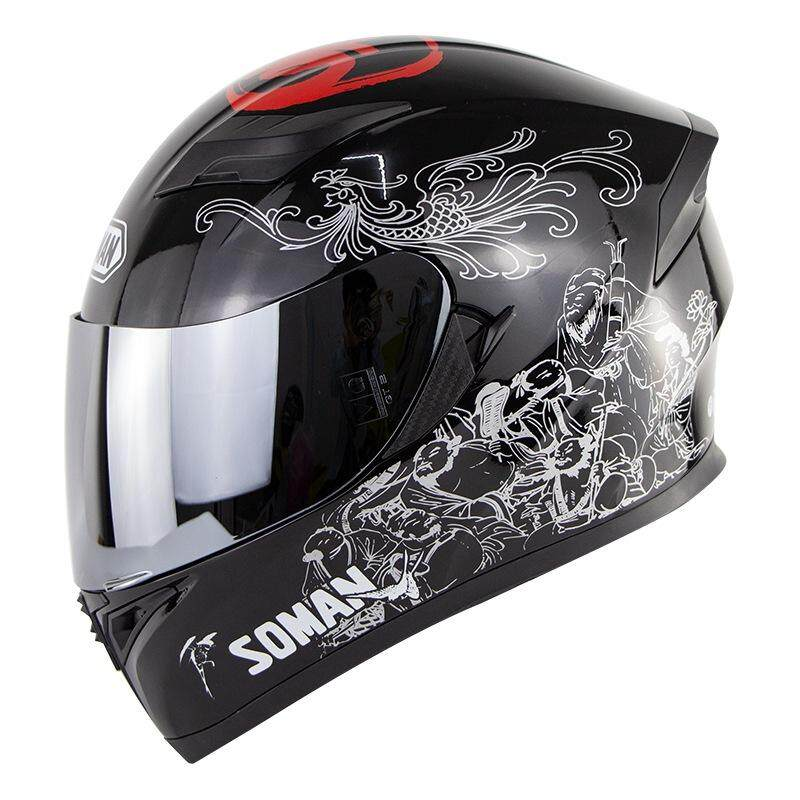 7b1c29ab3b3 1x Motorcycle Helmet. The different screens can cause the color of the item  in the image to be a little different from the actual one.