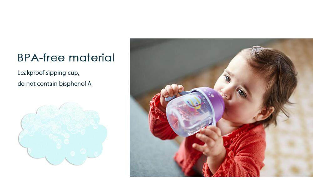 Avent 9oz / 260ml Baby Soft Handle Sipping Bottle Training Drinking Cup