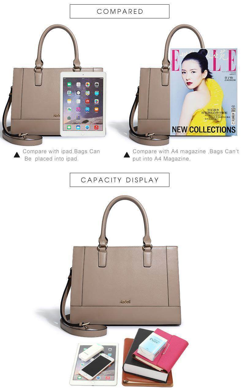 dc57400b3ac8 Specifications of kadell new material Cambridge bag large-capacity leather  ladies handbag