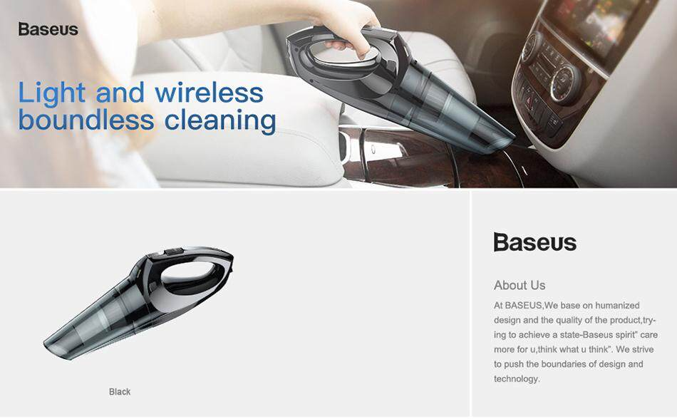 BASEUS Shark One H-505 Wireless Portable Handheld Car Vacuum Cleaner: Buy  Online at Best Prices in Bangladesh | Daraz.com.bd