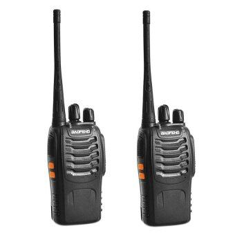 1 Pair BaoFeng BF-888S16 Channel Walkie Talkie Set UHF 5W