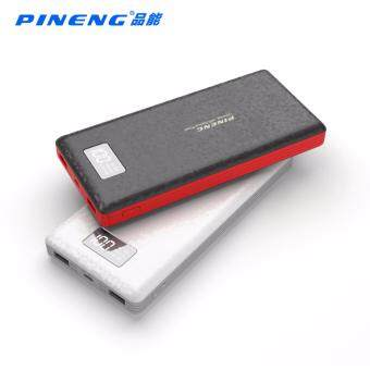 100% ORIGINAL PINENG PN-969 PN969 20000MAH POWER BANK Powerbank 2k mah Dual Dekstop Ring iring phone