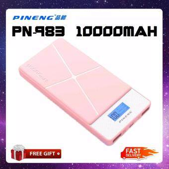 Malaysia Prices 100% Original Pineng PN983s Power Bank PN-983 10000mAh PN983 New Model