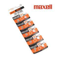 10PCS LR41 GENUINE Maxell Button Cell Alkaline Battery 1.5V Malaysia