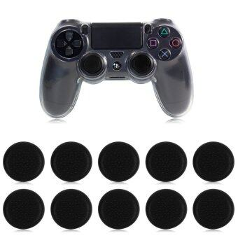 10PCS Thumbstick Cap Cover for PS3 PS4 XBOX Analog Controller ThumbStick Grip Black