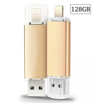 128GB iPhone USB Flash Drive, Pen-Drive Memory Storage, Jump DriveLightening Memory Stick External Storage Expansion for Apple IOSiPad Android Computers