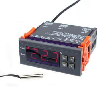 12V LCD Digital Temperature Controller Relay Temp w/ SensorThermostat