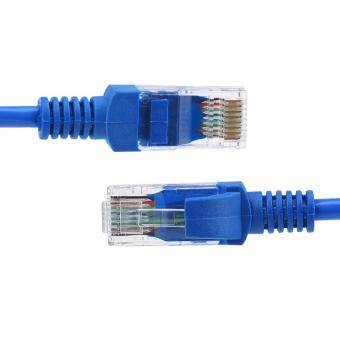13.5M Blue Ethernet Internet LAN CAT5e Network Cable for ComputerModem Router
