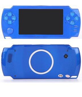 Harga 2016 New 4.3 Inch Ultra-Thin Touch Screen Handheld Game Console 8GBuilt In Memory Portable Video Games Console MP3 MP5 Music PlayerFor Kids Adults (Blue)