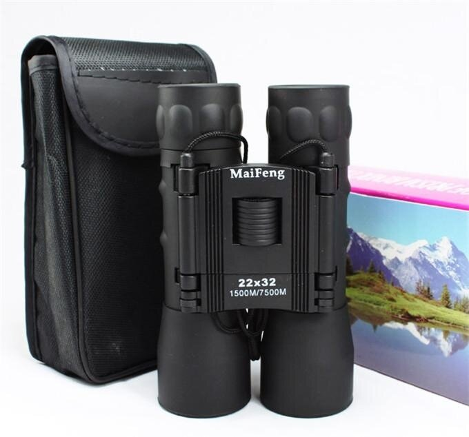 22X32 Binoculars High-power Telescope High-definition Upgrade Version Of The Green Film Range Zoom Hunting Telescope Professional Binoculars