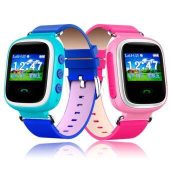 Harga 2Cool Smart Watch for Kids Gift GPS Kids Tracker Position SOS PhoneCall Children SmartWatch with SOS(Blue)