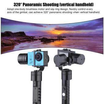 3-Axis Handheld Gimbal Brushless Action Camera Gyro Stabilizer for GoPro Hero 5 4/3+/3 for Xiaoyi AEE Action Camera of Similar Size