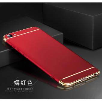 Harga 3 in 1 Ultra Thin Shockproof Armor full protective case for VivoY55/Y55s (Red)