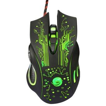 Harga 3200DPI LED Optical 6D USB Wired Gaming Game Mouse Pro Gamer MiceFor PC