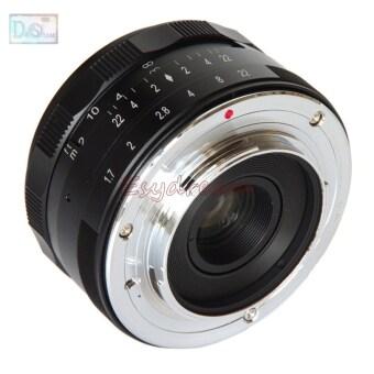 35mm 35 F1.7 Manual Lens for Fujifilm Fuji FX X-T10 X-T2 X-T1 X-A3 X-A2 X-A1 X-PRO2 X-PRO1 X-E2 X-E1 X-M1 - 2