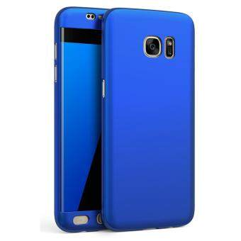 Harga 360 Degree Full Body Protection Cover Case for Samsung Galaxy S7Edge (Blue)