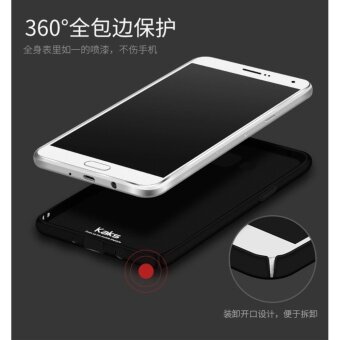 360 Degree Protective Case Ultra Thin PC Hard Case for SamsungGalaxy A5/A5 2015(Black) - 5