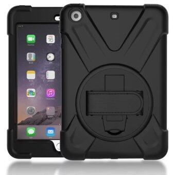 360 Degree Rotating Silicone + PC Pirate King Dust/Shock Proof Cover Stand Holder Case for Apple IPad Mini 1 2 3 7.9 Inch Tablet