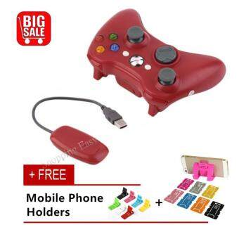 360 Wireless console Xbox 360 Wireless Game Controller 2.4GHz Controller with PC Receiver For Microsoft Xbox 360 For Xbox360 and PC Computer
