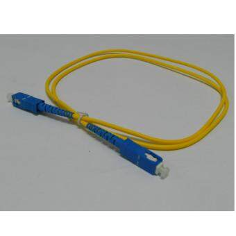 3C brand, SC-SC Simplex Fiber Patch Cord Cable, Single Mode, 9/125,1meter, factory terminated