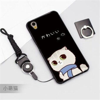 multicolor Source · 3D Relief Silica Gel Soft Phone Case for OPPO A37 .