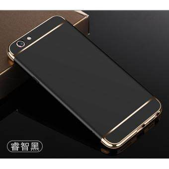 sell 3in1 ultra thin electroplated pc back cover case for