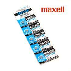 5PCS SR621SW GENUINE Maxell Silver Oxide Battery 1.55V Malaysia