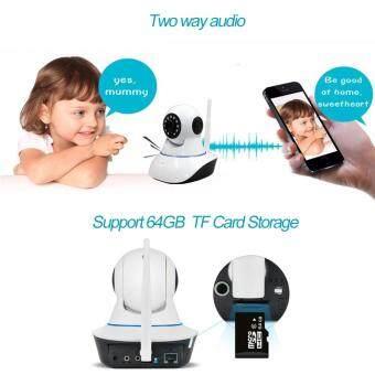 720P IP camera wifi wireless HD video surveillance security camera P2P IR infrared night vision cctv camera wi-fi baby monitor - 4