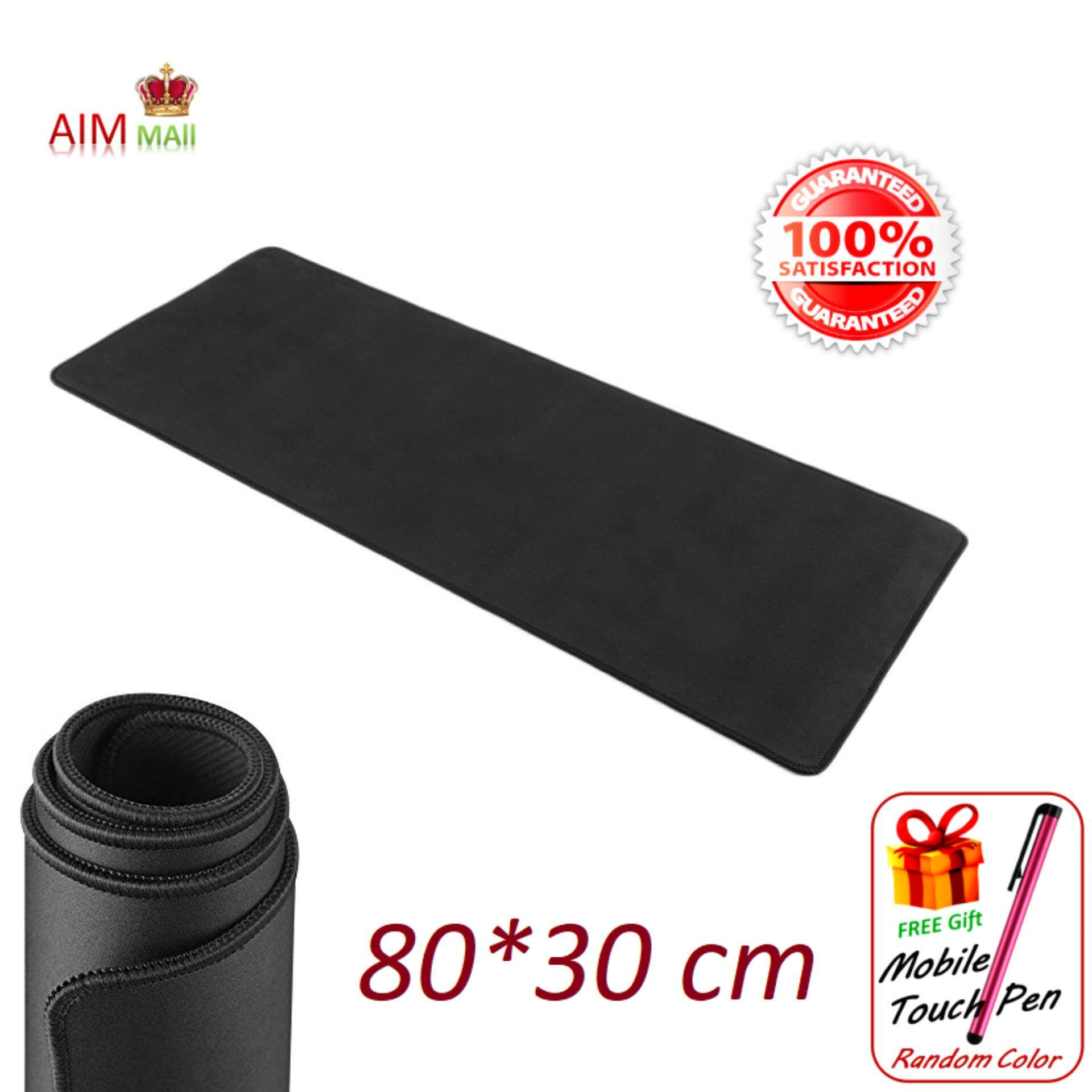 80*30 cm Extra Large size Smooth Surface and Anti-Slip Gaming Mouse Pad Malaysia