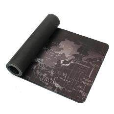 80CM X 40CM ULTRA LARGE ANTI-FLIP RUBBER SOFT TEXTILE MOUSE PAD (World Map) Malaysia
