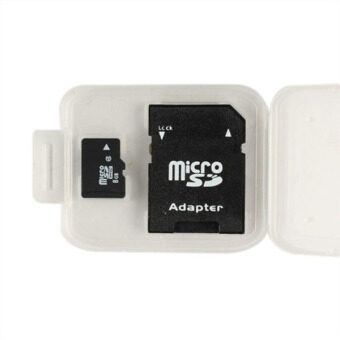 8GB Flash Micro SD TF MicroSD TF Memory Card with SD Adapter - Intl