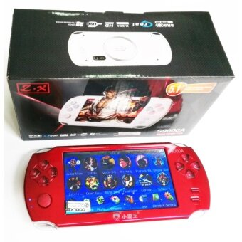 Harga 9000+ Free Games 5 Inch 8G PSP Game Player Handheld GBA ConsolesBig Screen MP3/MP4/MP5/FM/Camera (Red)