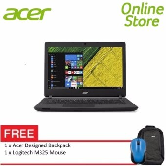 "Acer Aspire ES 14 (ES1-432-C9B6) - 14"" HD LED /Celeron N3350 / 4GB DDR3L / 500GB / Integrated / W10 (Black) FREE Logitech m325"