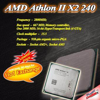 Harga AMD Athlon II X2 240 2core 2.8 ghz AM2+/AM3+ CPU / Processor (Refurbished)
