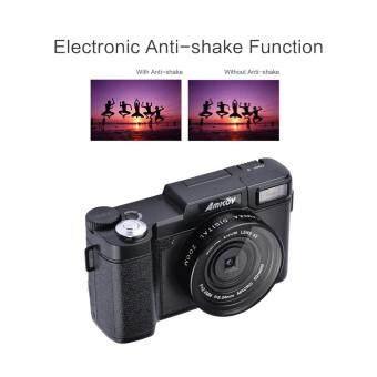 "Amkov AMK-R2 24MP 1080P 3.0\"" LCD Rotatable Screen Digital SLR DV Recorder Camera Black"