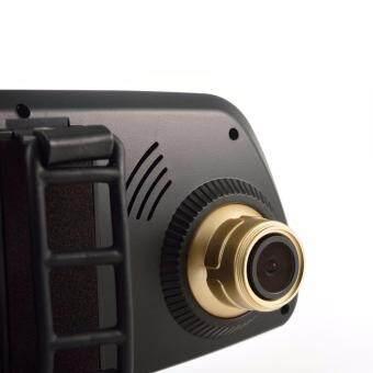 Anytek T6 HD Front & Rear Recording 2 in 1 Dual Lens Car CameraDVR Recorder with Rear View Mirror Digital Car Camcorder DashCam - 3