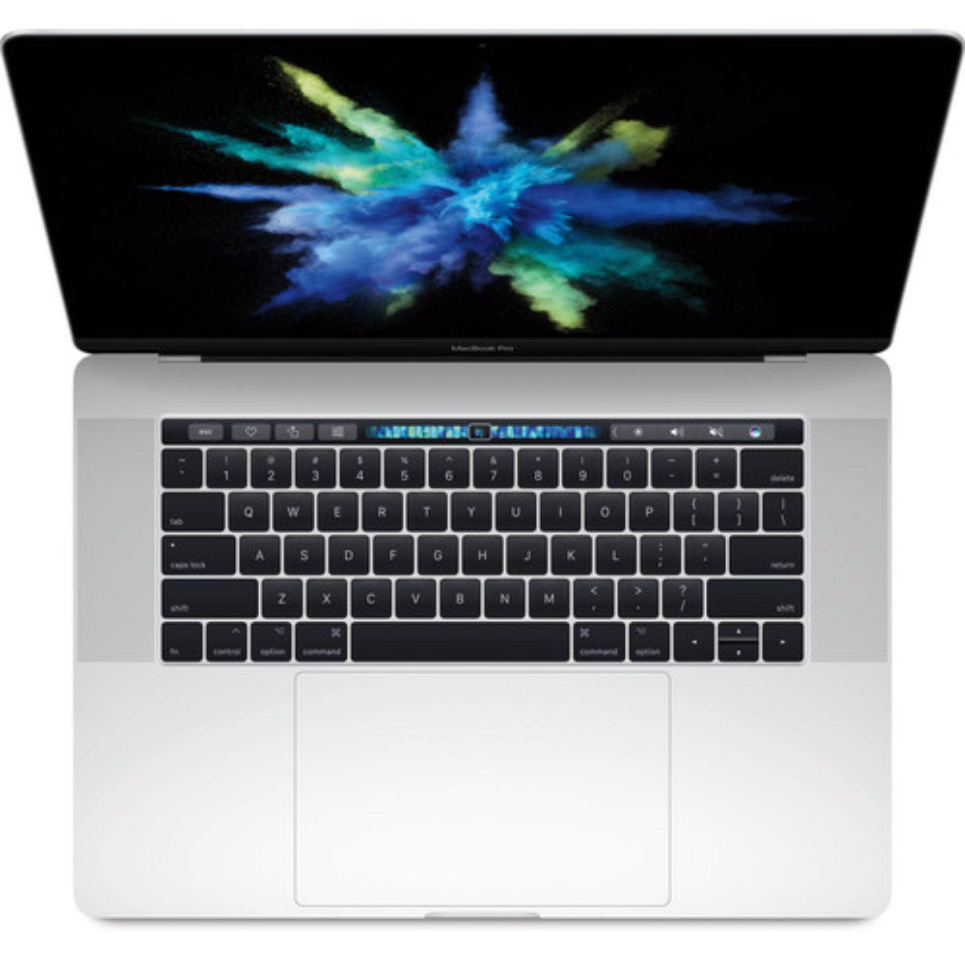 Apple 15.4 MacBook Pro with Touch Bar MPTU2LL/A (Mid 2017, Silver) Malaysia