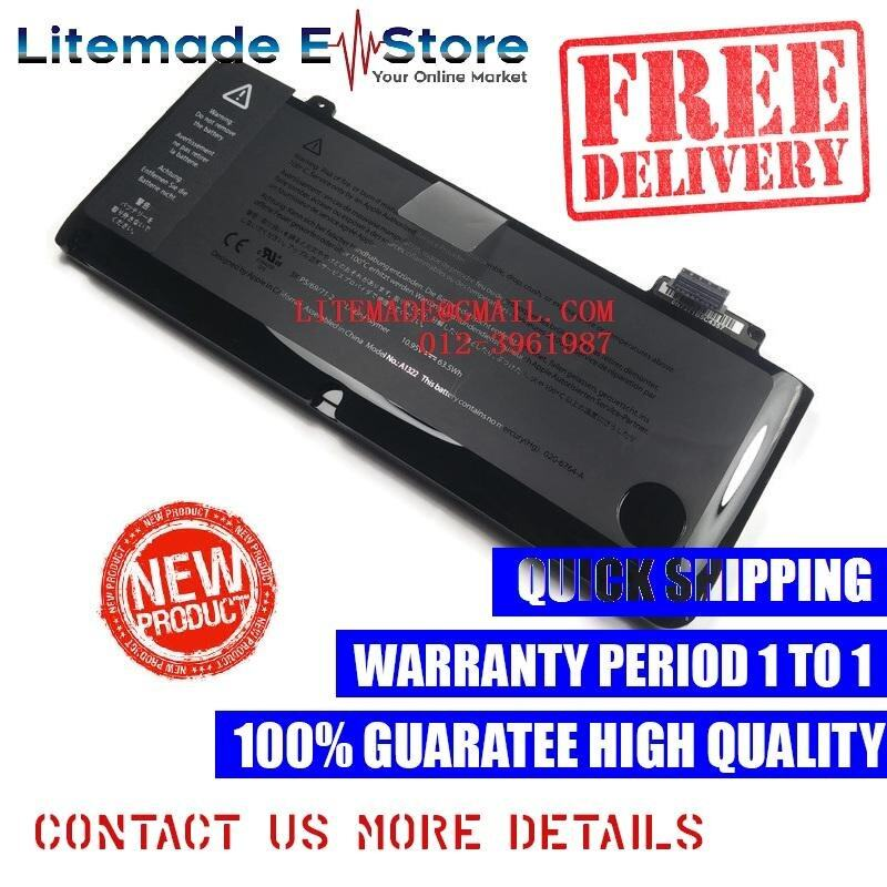 APPLE MacBook Pro A1278 2009 2011 A1322 Battery Malaysia