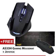 Armaggeddon NRO-5 Starship III Gaming Mouse 2017 Edition Free Gaming Mousemat and Gaming Joystick Malaysia