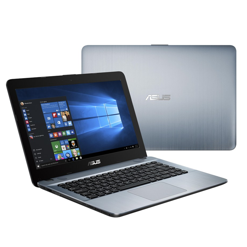 Asus VivoBook Max X441S-AWX043T 14 Laptop Silver (N3060, 4GB, 500GB, Intel, W10H) Malaysia