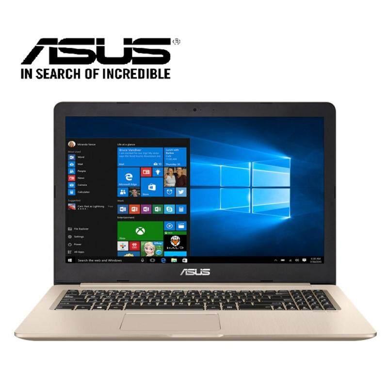 Asus Vivobook Pro N580V-DE4568T Laptop(i7-7700HQ/4GB D4/1TB+128GB/NVD GTX1050 4GB/15.6˝FHD/W10)Gold Malaysia