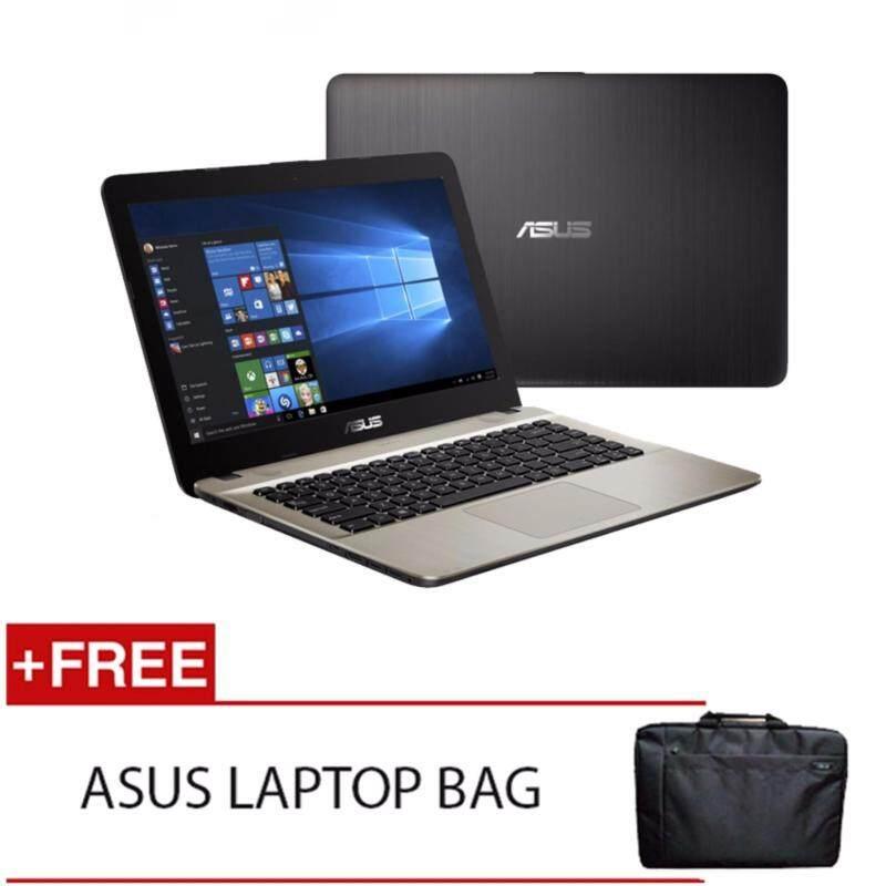 ASUS X441U-AWX315T I3-6100U 4GD3 500GB WIN10H (BLACK) FREE ASUS LAPTOP BAG Malaysia