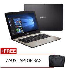 ASUS  X441U-RGA005T I5-7200U 4GD4 1TB NV930MX D42G WIN10H (BLACK) FREE ASUS LAPTOP BAG Malaysia