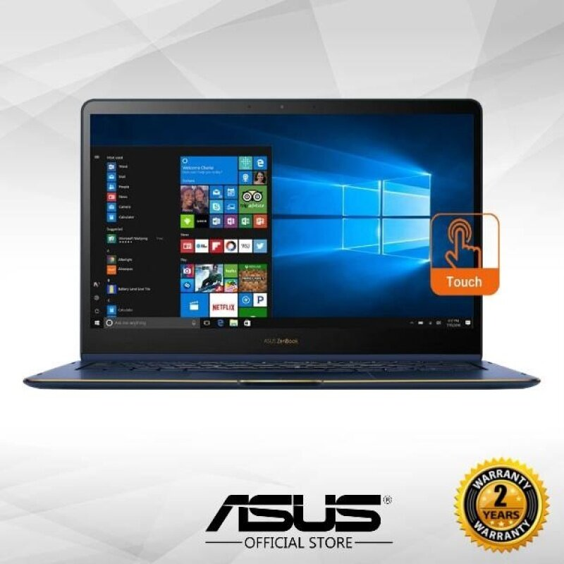 Asus Zenbook Flip S UX370U-AC4169T 13.3 FHD Touch Laptop (i7-7500U, 8GB, 512GB, Intel, W10) - Royal Blue Malaysia