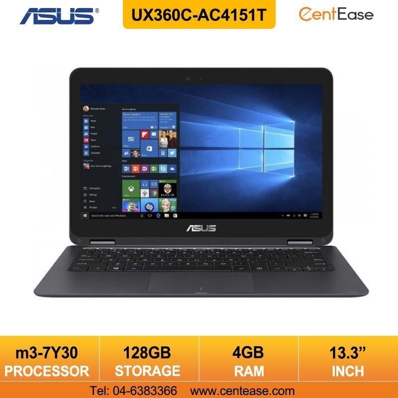 Asus Zenbook UX360C-AC4151T Ultrabook Notebook Intel Core M3 Windows 10/ Gray Malaysia