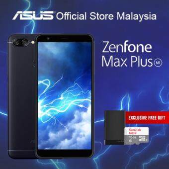 ASUS ZENFONE MAX PLUS ( 4GB / 32GB ROM/ 4130 mAh Battery ), ORI MY SET!! ( Available Deepsea Black Only)