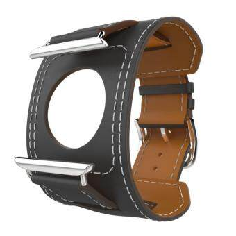 Band for Apple Watch Series 1 Series 2, Genuine Leather Smart WatchBand Cuff Strap Replacement