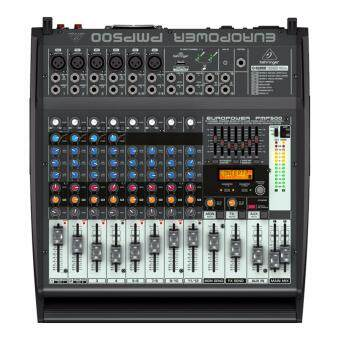 Behringer Europower PMP-500 500-Watt 12-Channel Powered Mixer