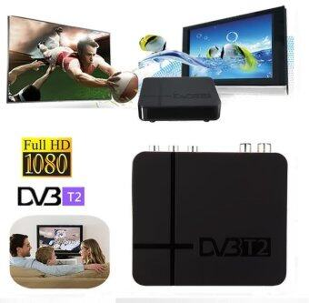 Best Selling Full HD 1080P DVBDigital Terrestrial Receiver Set-top Box with Full Multimedia Player H.264 / MPEG-2 / 4 Compatible with DVB-T for TV HDTV