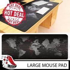 Big Size (80cm*30cm*0.2cm) Pro Gaming World Map Mouse Pad Mousepad for Dota LOL CS GO Malaysia